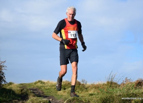 Harriers success at Baildon Boundry Way half