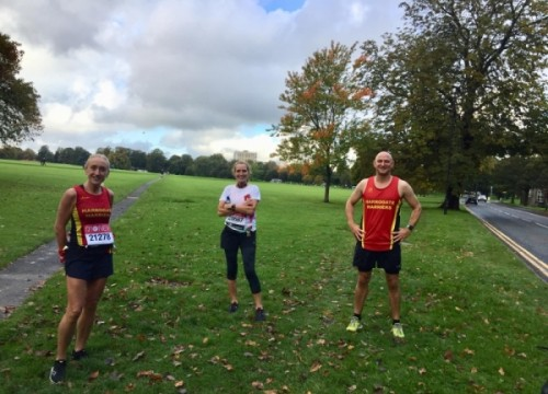 Harriers Virtual London Marathon and Big Flat Runway Results