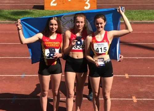 HH Junior multiple success at Yorkshire Track and Field Championships 2019