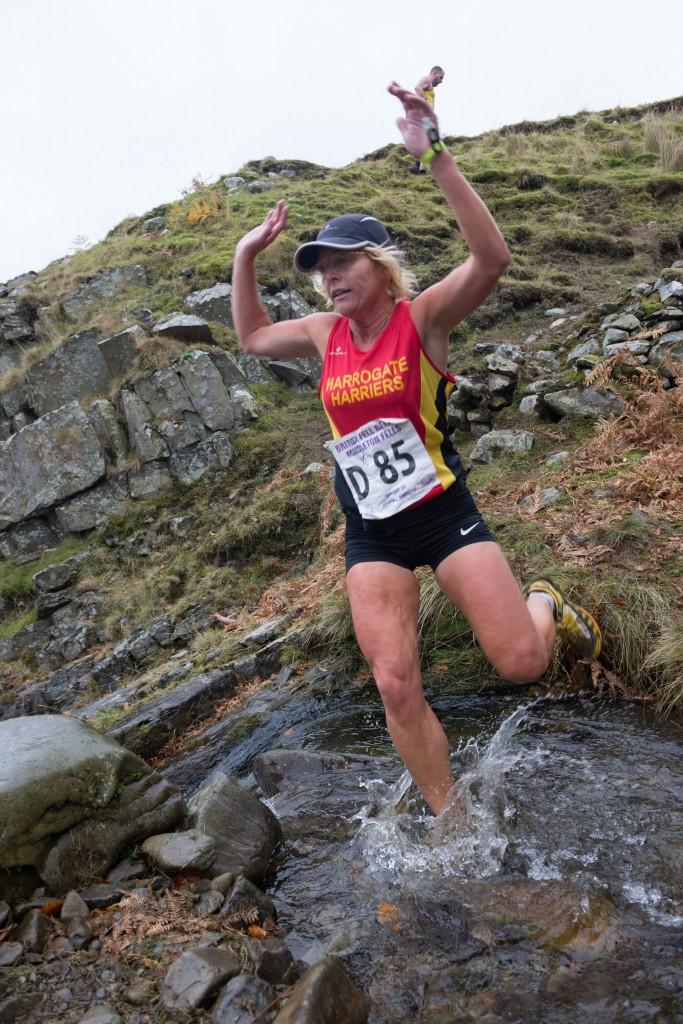 Sally Houghton in Full Descent Mode! (John Leech Photography)