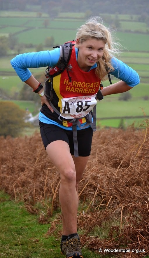 Ros Moore Working Hard on Leg 1 .... (Dave Woodhead)