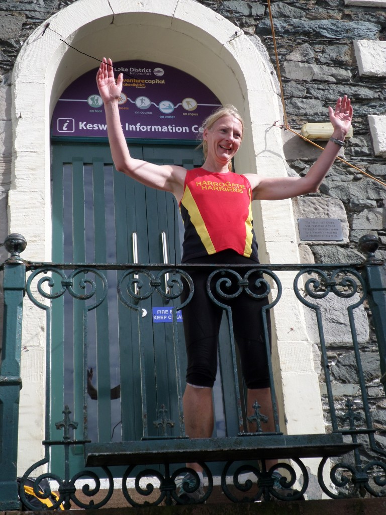 Helen celebrates success at the Moot Hall!